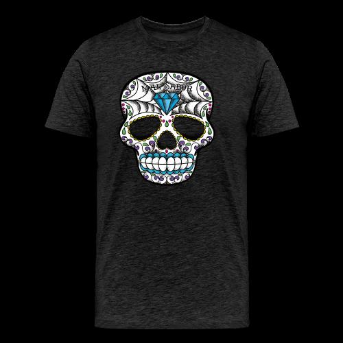 Calavera Tattoo Design - Männer Premium T-Shirt