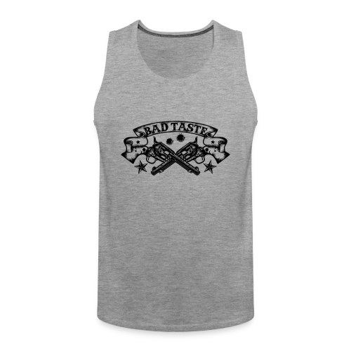 Crossed Revolver - Männer Premium Tank Top
