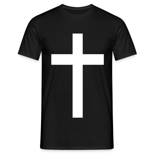 Tauf-Shirt MEN cross forgiven - Männer T-Shirt