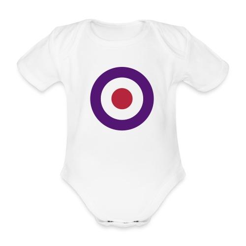 Pour les petits pilotes français...  - Body bébé bio manches courtes