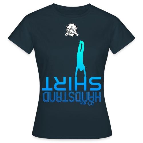 Tshirt Femme - Handstand - Bleu - Fit - T-shirt Femme