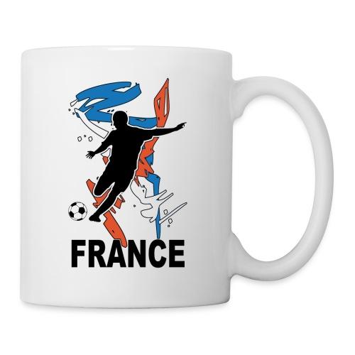 Football bleu blanc rouge - Mug