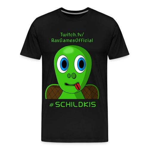 Schildki Motiv 1 - Shirt (Männlich) - Männer Premium T-Shirt