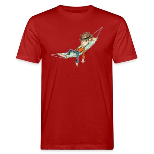 einfach abhängen - Männer Bio-T-Shirt  - Männer Bio-T-Shirt