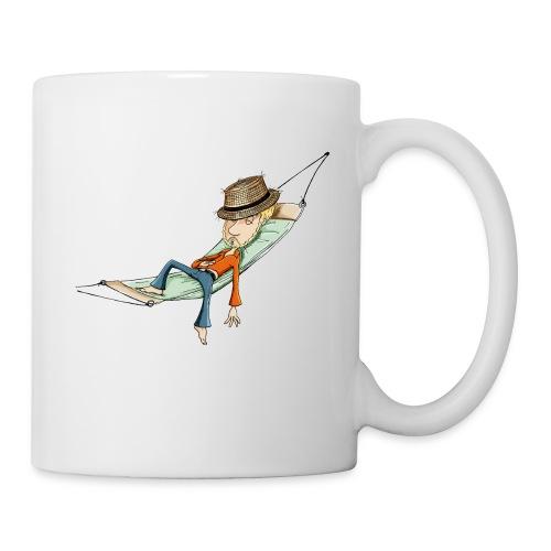 einfach abhängen - Tasse weiß  - Tasse