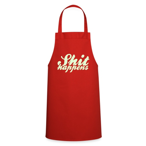 'Shit Happens' Philosophy Quotes - Cooking Apron