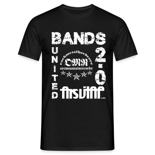 Bands United 2018 Gentlemen - Männer T-Shirt