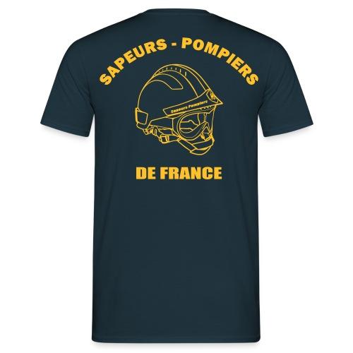 Tee-shirt - SP de France Casque F2 - T-shirt Homme