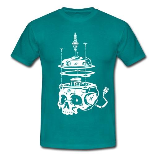 Piston Skull - T-shirt Homme