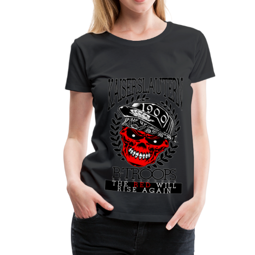 THE RED WILL RISE AGAIN - Frauen Premium T-Shirt