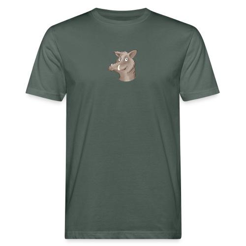 freches Wildschwein - Männer Bio-T-Shirt - Männer Bio-T-Shirt