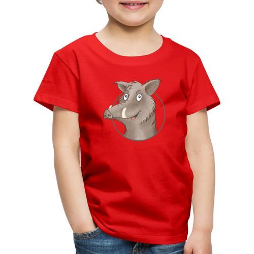 freches Wildschwein - Kinder Premium T-Shirt - Kinder Premium T-Shirt