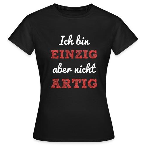 EINZIGARTIG rot - Frauen T-Shirt