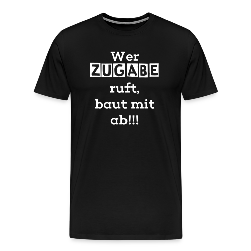 Mertens Manufaktur, beidseitig - Männer Premium T-Shirt