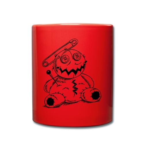Voodoo-Puppe - Tasse farbig - Tasse einfarbig