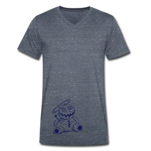 Voodoo-Puppe - Männer Bio-T-Shirt V-Ausschnitt - Männer Bio-T-Shirt mit V-Ausschnitt von Stanley & Stella