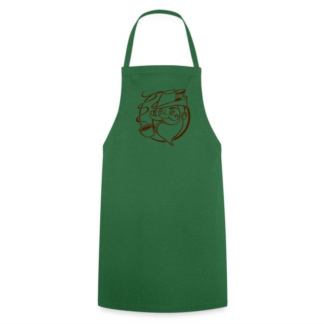 Jägersmann - Kochschürze grün