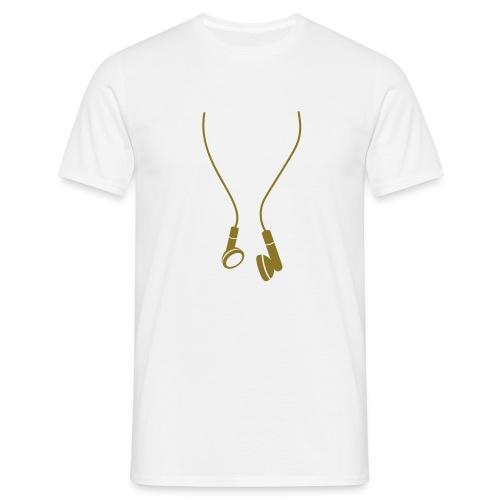 In-Ear Kopfhörer -GOLD EDITION- - Männer T-Shirt