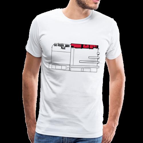 Graffiti am Hermannplatz - Männer Premium T-Shirt