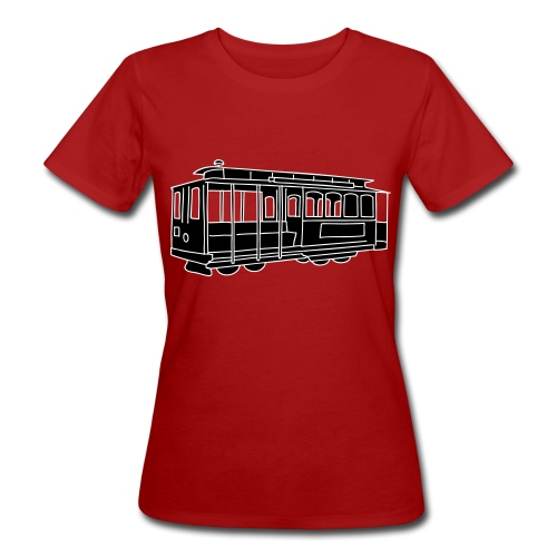 San Francisco Cable Car 2 - Frauen Bio-T-Shirt