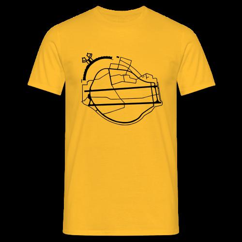 Tempelhofer Feld Berlin - Mannen T-shirt