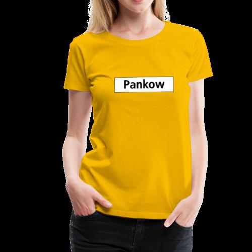 PANKOW Berlin  - Frauen Premium T-Shirt