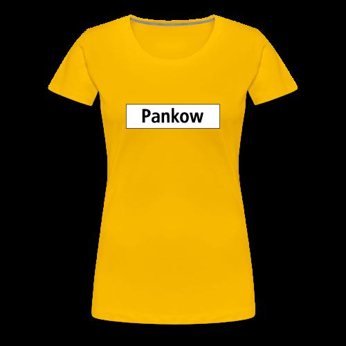 PANKOW Berlin  - Vrouwen Premium T-shirt