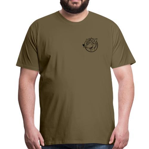 Fuchs - Männer Premium T-Shirt - Brustlogo - Männer Premium T-Shirt