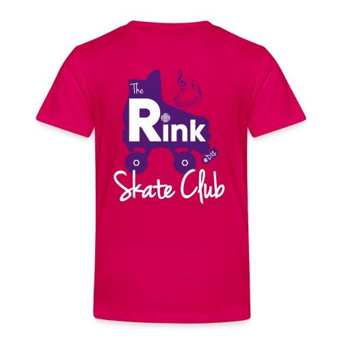 Kids The Rink @D12 Skate Club (Pink) - Kids' Premium T-Shirt