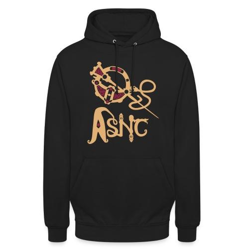 Brooch logo unisex hoodie - Unisex Hoodie