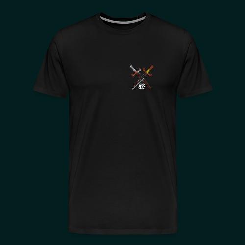 Seebach Crown Shirt (+Rücken Aufdruck) - Männer Premium T-Shirt