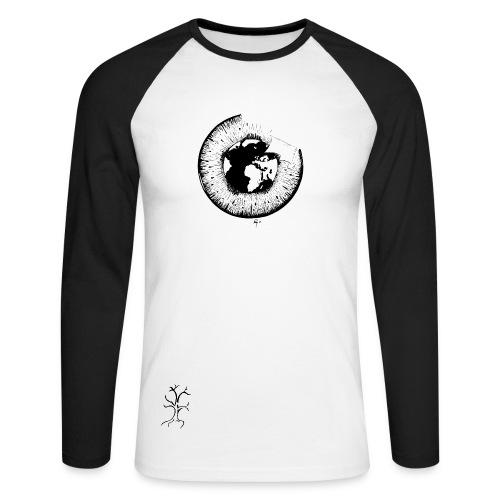 Ruego - Blick auf Verstädterung - Men - Männer Baseballshirt langarm