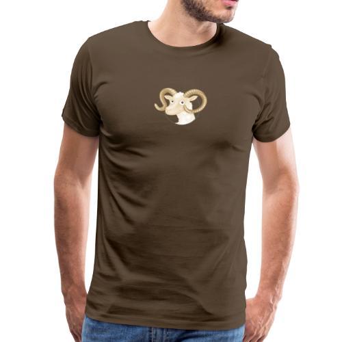 Schafbock - Männer Premium T-Shirt  - Männer Premium T-Shirt
