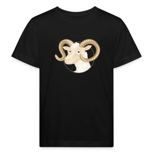 Schafbock - Kinder Bio-T-Shirt  - Kinder Bio-T-Shirt