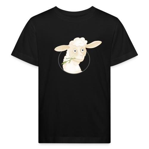 Schäfchen - Kinder Bio-T-Shirt  - Kinder Bio-T-Shirt