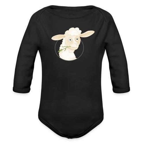 Schäfchen - Baby Bio-Langarm-Body - Baby Bio-Langarm-Body