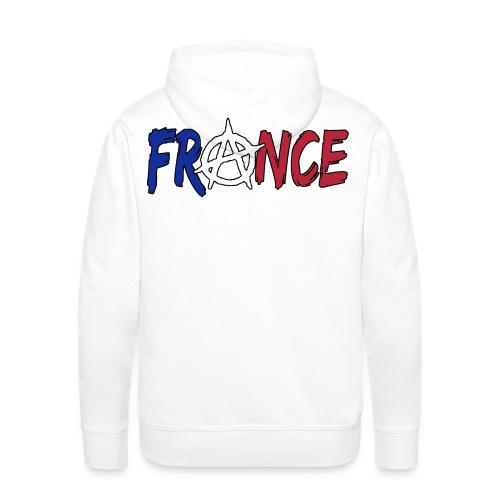 France anarchiste - Sweat-shirt à capuche Premium pour hommes