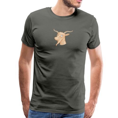 Ziegenbock - Männer Premium T-Shirt  - Männer Premium T-Shirt