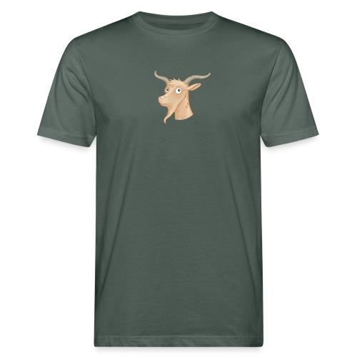 Ziegenbock - Männer Bio-T-Shirt  - Männer Bio-T-Shirt