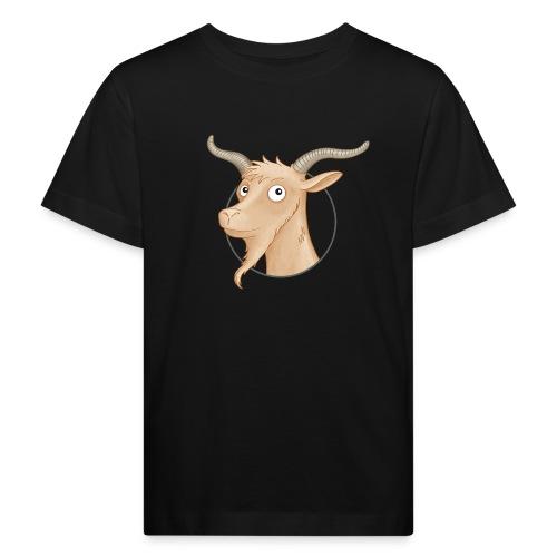 Ziegenbock - Kinder Bio-T-Shirt - Kinder Bio-T-Shirt