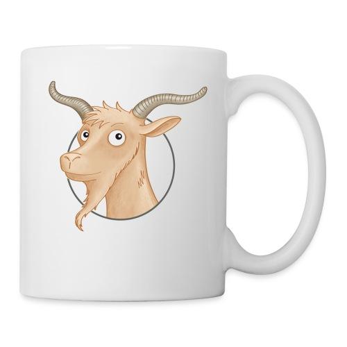 Ziegenbock - Tasse weiß  - Tasse