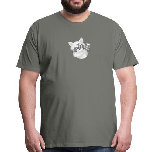 cooler Waschbär - Männer Premium T-Shirt - Männer Premium T-Shirt