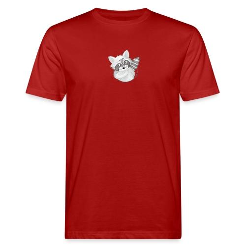 cooler Waschbär - Männer Bio-T-Shirt  - Männer Bio-T-Shirt