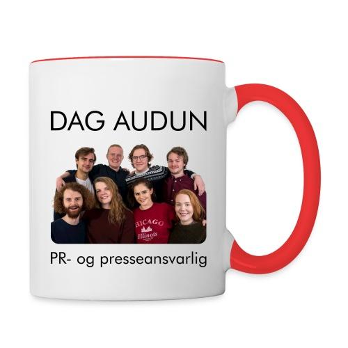 Styret 17/18 Dag Audun - Tofarget kopp