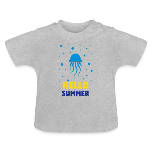 Qualle Hello Summer - Baby - Baby T-Shirt