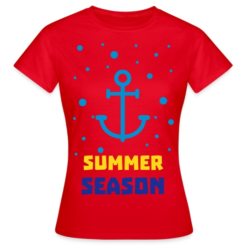 Anker Summer Season - Women - Frauen T-Shirt