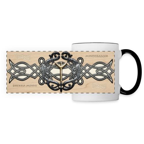 Gudrun's Minne Cup - Mug panoramique contrasté et blanc