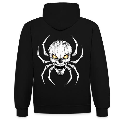 Skull spider - Sweat-shirt contraste