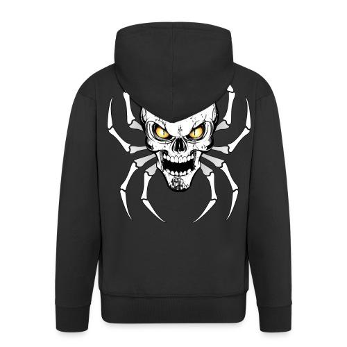 Skull spider - Veste à capuche Premium Homme