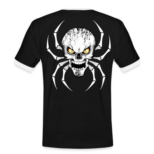 Skull spider - T-shirt contrasté Homme